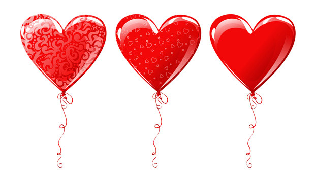 Heart-shaped-balloon