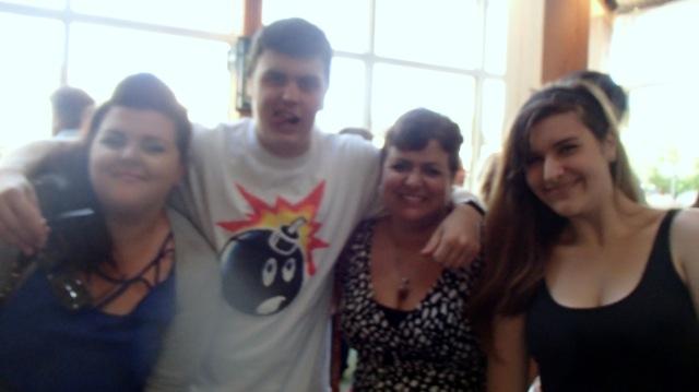 my three beautiful children and I