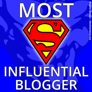 most influential blogger...