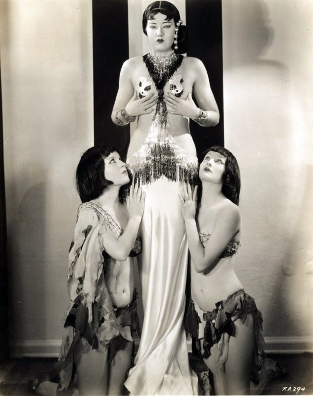 footlight parade asian chorus pinterest