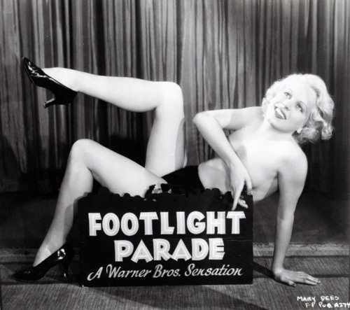 footlight parade pinterest, pinup