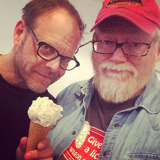 ALTON BROWN AT RED WAGON CREAMERY